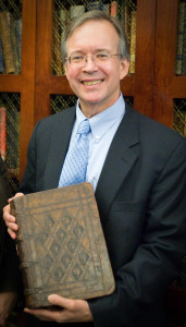 Gary with Bible