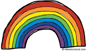 Rainbow-clipart-black-and-white-free-clipart-images-2