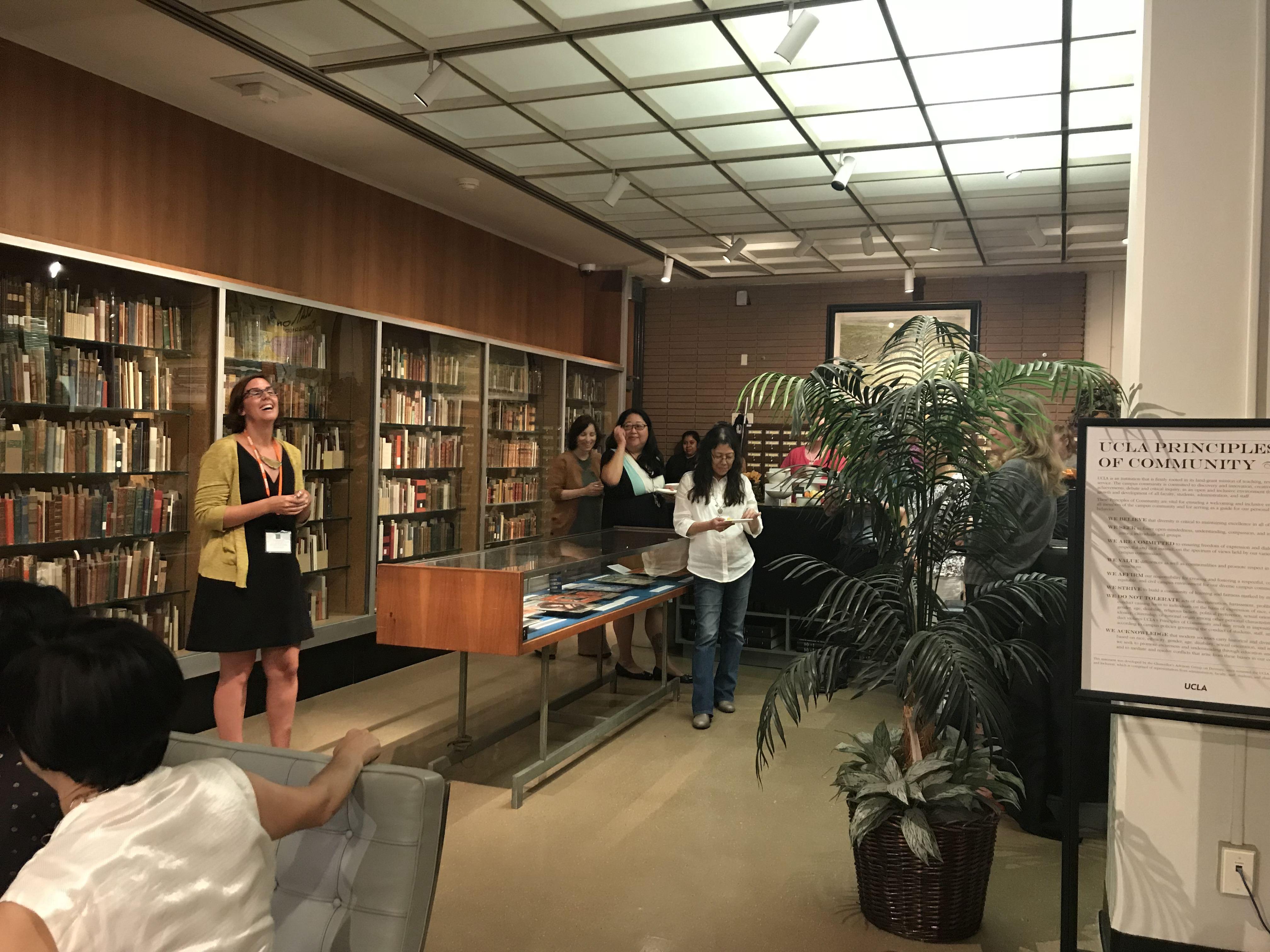 Week 1 Mixer | California Rare Book School
